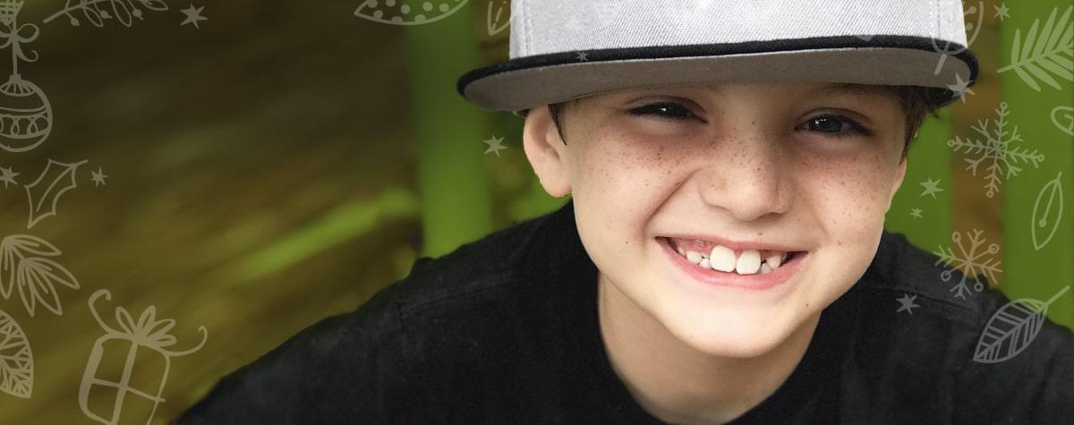 Evan, transplant recipient