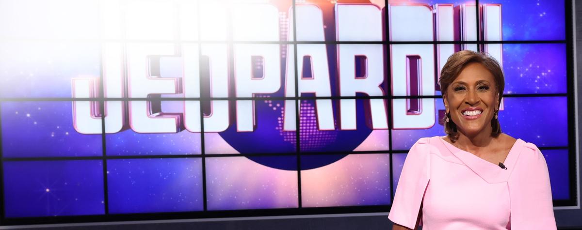 Robin Roberts on Jeopardy