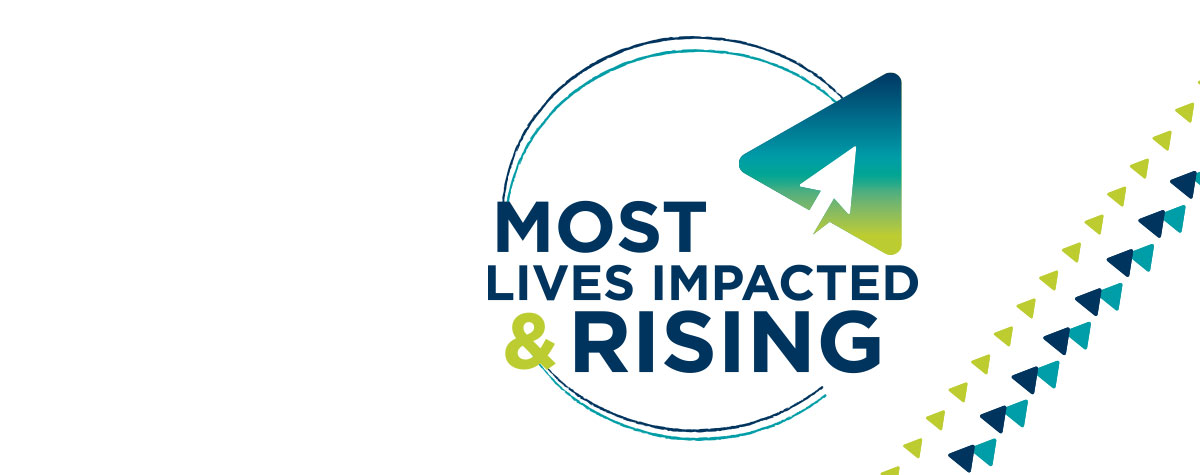 Most Lives Impacted and Rising Homepage
